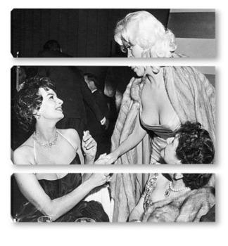 Модульная картина Sophia Loren-05