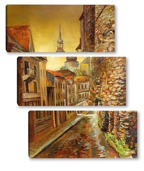 Модульная картина Старый Таллин