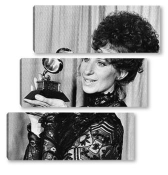 Модульная картина Барбара Стрейзанд с<Грэмми>.