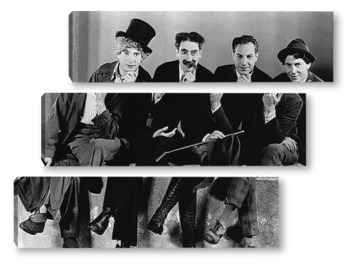 Модульная картина Marx Brothers