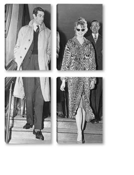 Модульная картина Brigitte Bardot-12