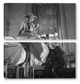 Модульная картина Christian Dior-2