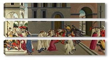 Модульная картина Три Чуда святого Зиновия