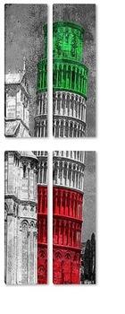Модульная картина Пизанская башня