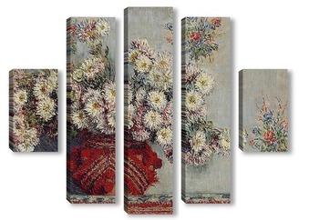 Модульная картина Хризантемы (1878)