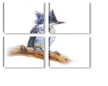 Модульная картина Птица счастья