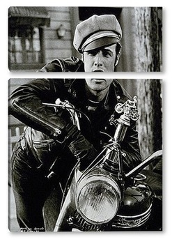 Модульная картина  Marlon Brando-10