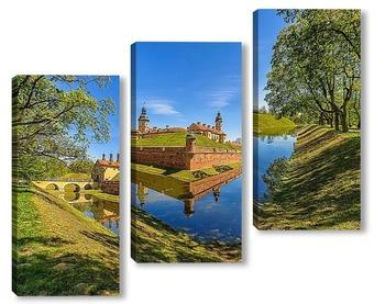 Модульная картина Несвижский замок