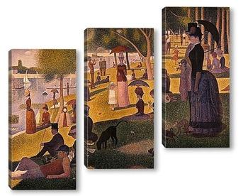 Модульная картина Seurat-2