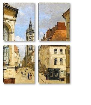 Модульная картина Колокольня в Дуэ