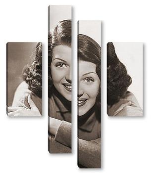 Модульная картина Rita Hayworth-10