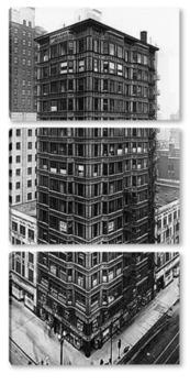 Модульная картина Внешний вид Reliance building