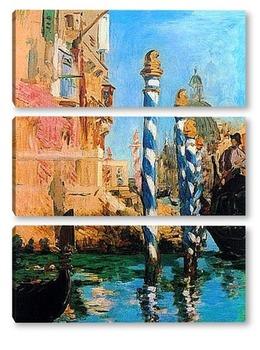 Модульная картина Edouard Manet-1