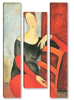 Модульная картина Жена художника