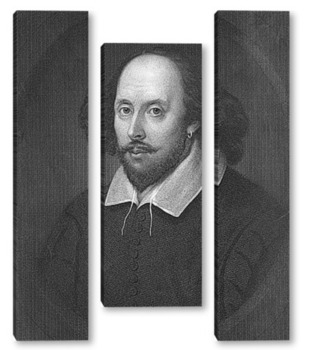 Модульная картина Шекспир-12