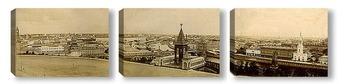Модульная картина Панорама старой Москвы