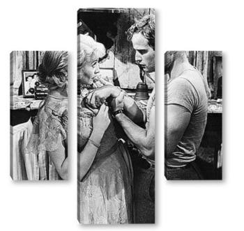 Модульная картина  Marlon Brando-13