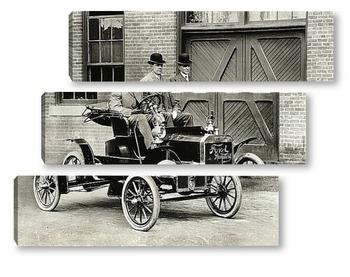 Модульная картина Генри Форд тестирует Ford-N.1905г.