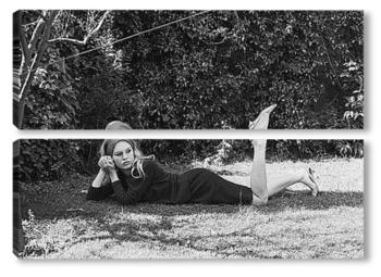 Модульная картина Brigitte Bardot-04
