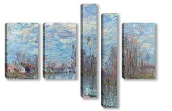 Модульная картина Луан и Мост Море