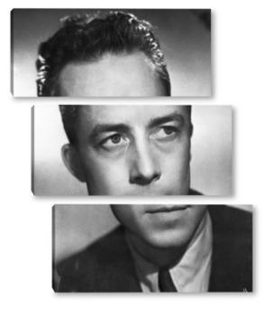 Модульная картина Albert Camus