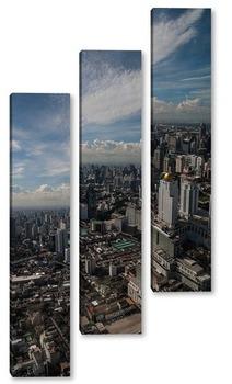 Модульная картина Утренний Бангкок