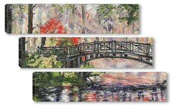Модульная картина Мост вздохов