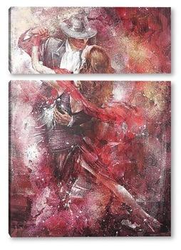 Модульная картина Волшебное танго