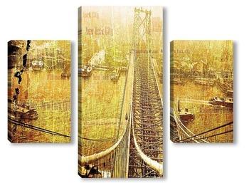 Модульная картина Вильямсбургский мост