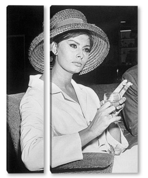 Модульная картина Sophia Loren-13