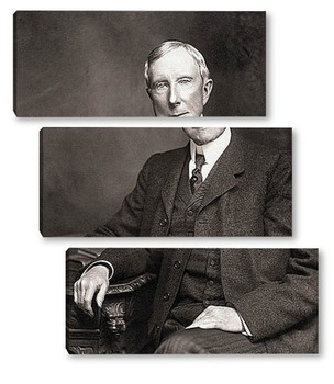 Модульная картина John D. Rockefeller-01