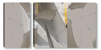 Модульная картина Тент 01