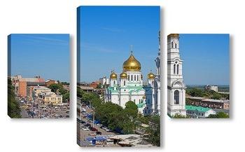 Модульная картина Собор Рождества Пресвятой Богородицы, Ростов.