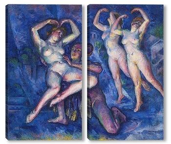 Модульная картина Танцы, 1915