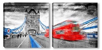 Модульная картина Тауэрский мост