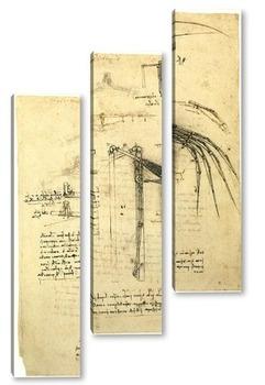 Модульная картина Leonardo da Vinci-13