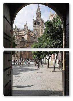 Модульная картина Колокольня кафедрального собора в Севилье