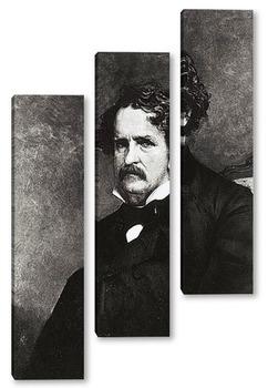 Модульная картина Edgar Allan Poe-2