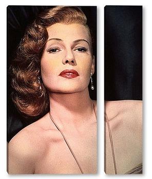 Модульная картина Rita Hayworth-02