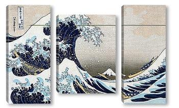 Модульная картина Hokusai_3