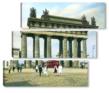 Модульная картина Санкт-Петербург. Москвские Триумфальные ворота