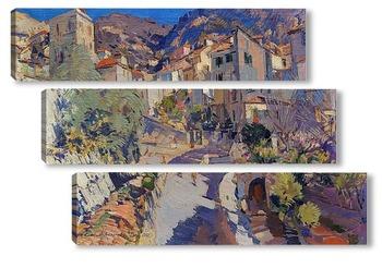 Модульная картина Округ, Ницца