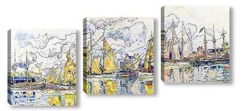 Модульная картина Сен-Мало