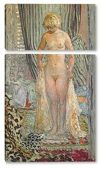 Модульная картина Обнаженная женщина
