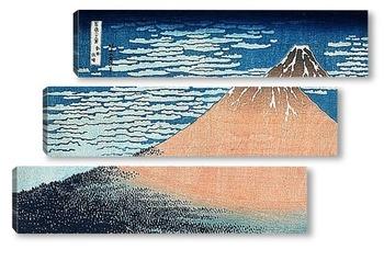 Модульная картина Hokusai_1