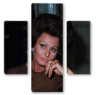 Модульная картина Sophia Loren-12