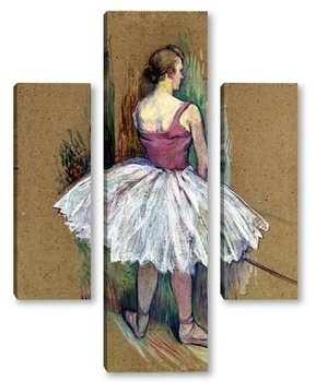 Модульная картина Танцовщица в Пьед де Ву