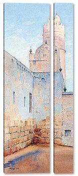Модульная картина Мечеть в Тунисе.