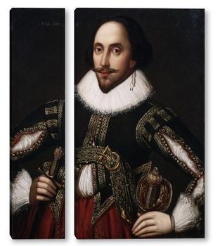 Модульная картина Шекспир-5