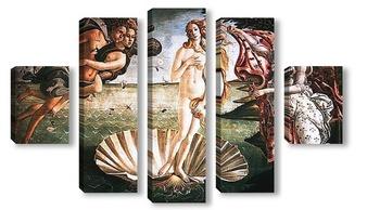 Модульная картина Botticelli-5